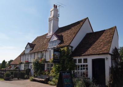 Turville pub in sun