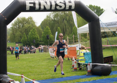 10k first through the finish line