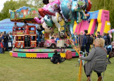 Balloons waiting