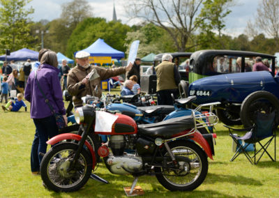A couple of interesting motorbikes